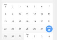 react-infinite-calendar