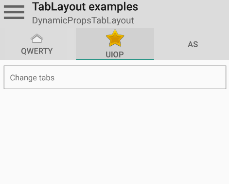 React Native Android TabLayout Component | Reactscript