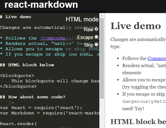 Render Markdown As React Components