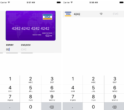 React Native Credit Card Input