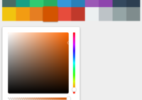 React Simple ColorPicker Component