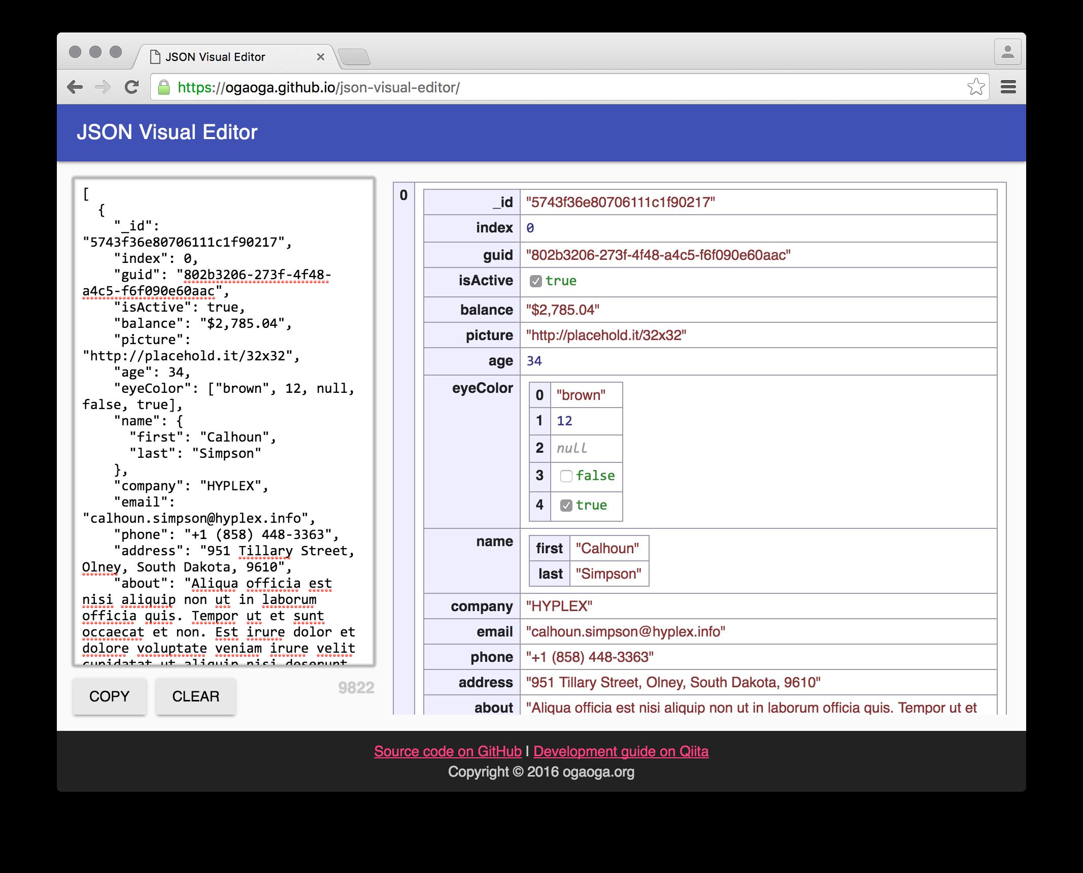 React JSON Visual Editor | Reactscript