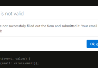 Availity React Bootstrap Form Validation Component