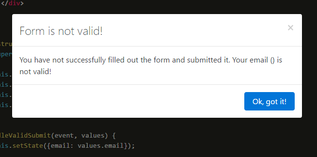 Availity React Bootstrap Form Validation Component | Reactscript