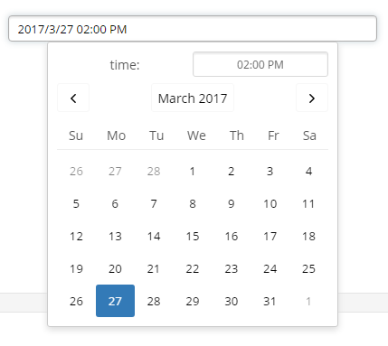 Multi-language React Date Picker