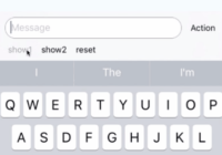 React Native Keyboard Input