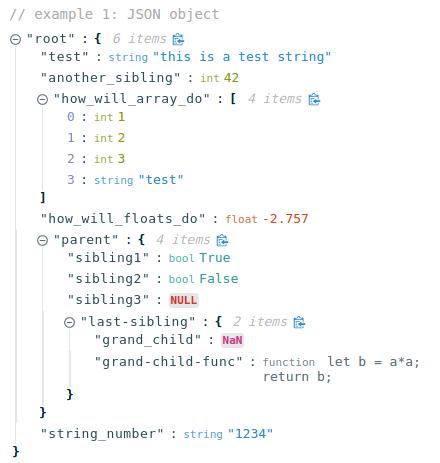 Interactive JSON Viewer For React | Reactscript
