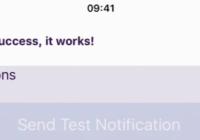React In App Notification