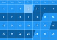 React Booking Calendar