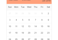 Flexible React Calendar Components - kalendaryo-min