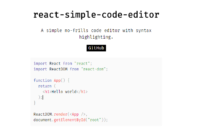 React Code Editor With Syntax Highlighting-min