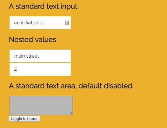 Higher Order Form Builder Component - react-minimal-form