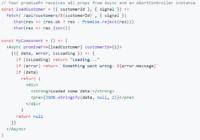 Promise-based React Data Loader - react-async