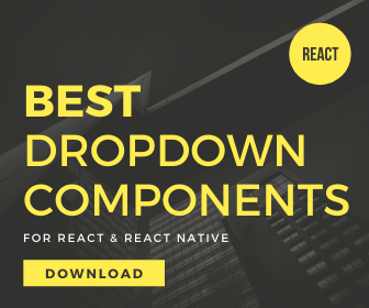 10 Best Dropdown Components For React & React Native (2021 Update)