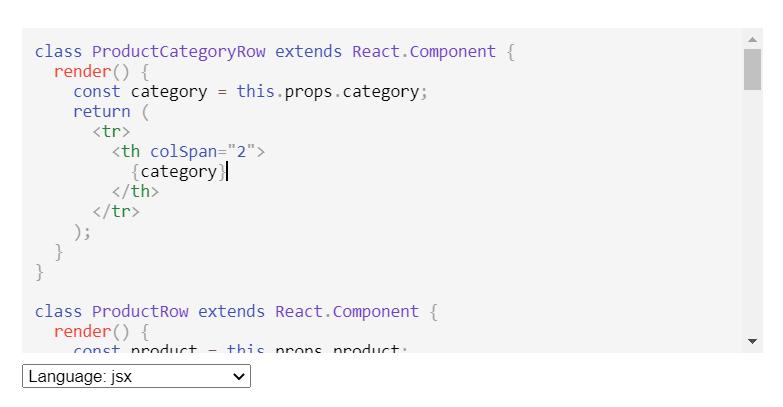 Textarea Code Editor With Syntax Highlighting