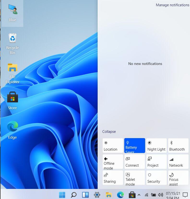 Windows 11 UI In React Notifications